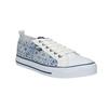 Damen-Sneakers mit Muster north-star, Blau, 589-1441 - 13