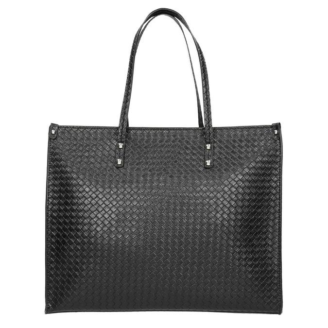 Handtasche mit geflochtenem Muster marie-claire, Schwarz, 961-6540 - 26