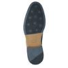 Legere Halbschuhe aus Leder bata, Blau, 826-9910 - 19