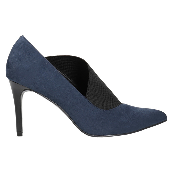 Pumps mit Stiletto-Absatz insolia, Blau, 729-9608 - 15