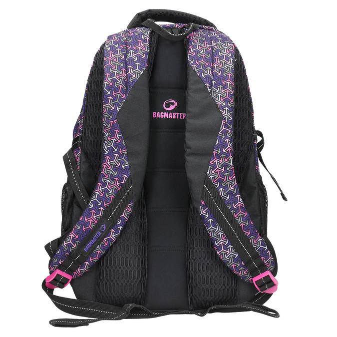 Schulrucksack bagmaster, Violett, 969-5648 - 19