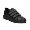 Schwarze Leder-Sneakers mit Klettverschlüssen bata, Schwarz, 526-6646 - 13