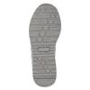 Silberne Mädchen-Sneakers mit Steinchen mini-b, Grau, 329-2295 - 19