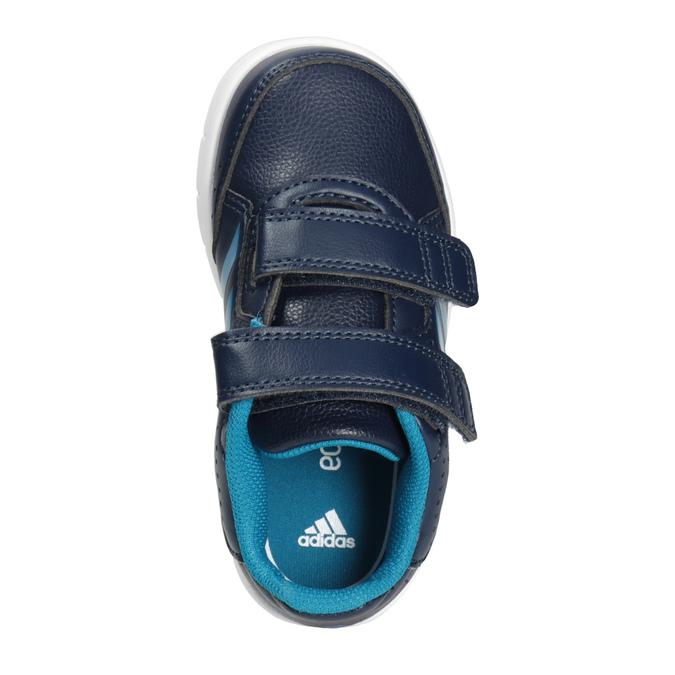 Kinder-Sneakers mit Klettverschluss adidas, Blau, 101-9161 - 15