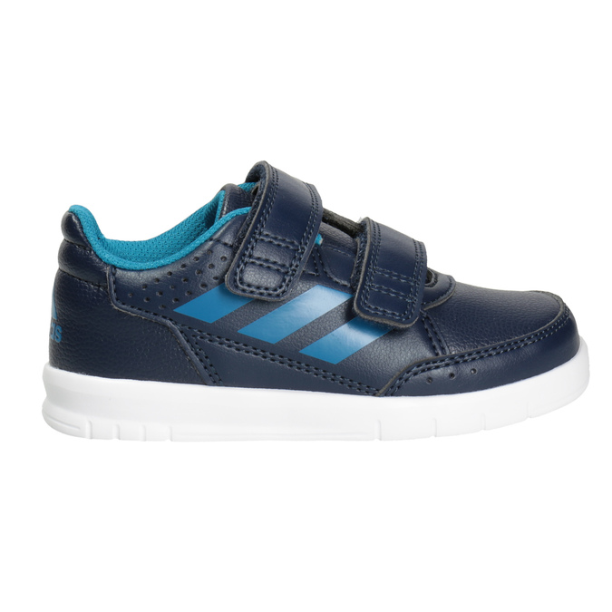 Kinder-Sneakers mit Klettverschluss adidas, Blau, 101-9161 - 26