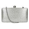 Silberne Clutch bata, Silber , 969-1660 - 26