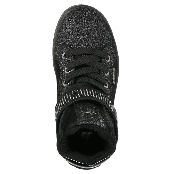 Knöchelhohe Kinder-Sneakers mini-b, Schwarz, 323-6172 - 26