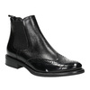 Damen-Chelsea-Boots aus Leder bata, Schwarz, 594-6638 - 13