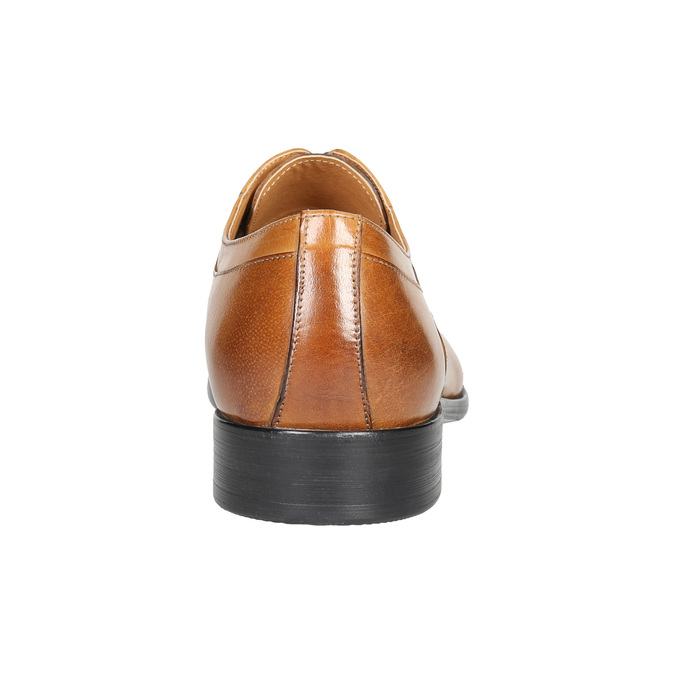 Herrenhalbschuhe aus Leder im Ombré-Look bata, Braun, 824-3233 - 17