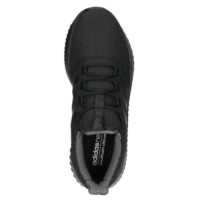 Schwarze Herren-Sneakers adidas, Schwarz, 809-6204 - 15