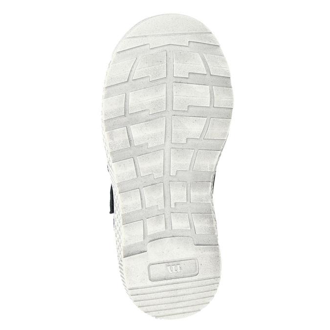 Knöchelhohe Sneakers aus Leder mini-b, Braun, 214-4203 - 17