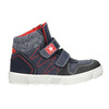 Knöchelhohe Sneakers aus Leder mini-b, Blau, 214-9203 - 26