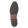 Braune Chelsea Boots aus Leder bata, Braun, 594-4636 - 18
