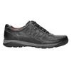 Herren-Sneakers aus Leder bata, Schwarz, 824-6921 - 15