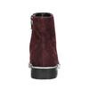 Knöchelschuhe aus geschliffenem Leder bata, Rot, 593-5603 - 17