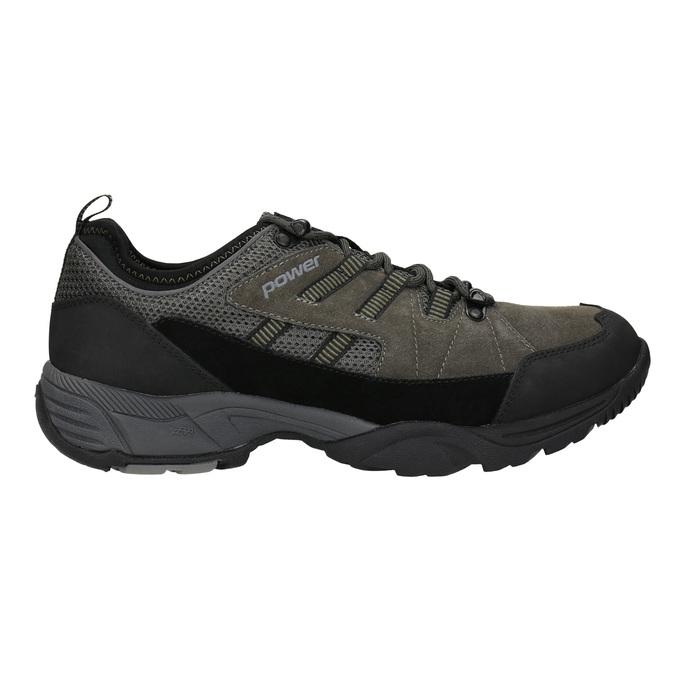 Herren-Sneakers im Outdoor-Stil power, Grau, 803-2230 - 26