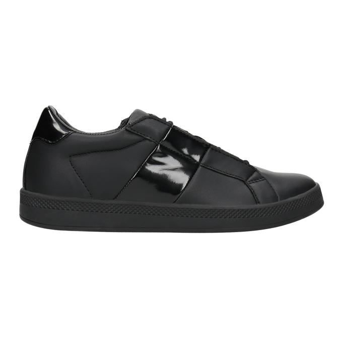 Schwarze Damen-Sneakers, Schwarz, 501-6171 - 26
