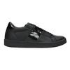 Schwarze Damen-Sneakers atletico, Schwarz, 501-6171 - 26