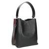 Zweifarbige Damenhandtasche bata, Schwarz, 961-6173 - 13