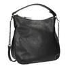 Schwarze Hobo-Damenhandtasche bata, Schwarz, 961-6177 - 13