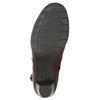 Knöchelschuhe der Weite H bata, Rot, 696-5625 - 19