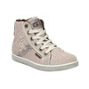 Knöchelhohe Kinder-Sneakers aus Leder mini-b, Rot, 223-5170 - 13