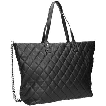 Gesteppte Handtasche mit Kettchen bata, Schwarz, 961-6139 - 13