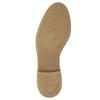 Damenschnürschuhe aus Leder bata, Grau, 596-2663 - 19