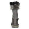 Mädchen-Lederstiefel mit Fell mini-b, Grau, 396-2191 - 16
