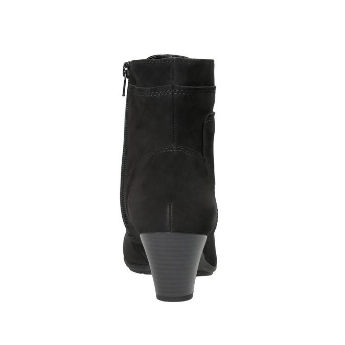 Leder-Knöchelschuhe mit Schnürung gabor, Schwarz, 726-6120 - 16