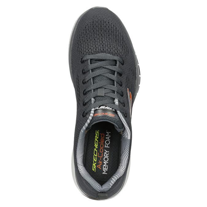 Graue, sportliche Sneakers skechers, Grau, 809-2330 - 15