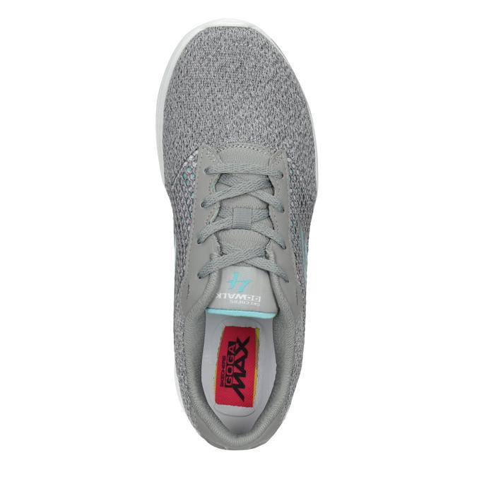 Graue Damen-Sneakers skechers, Grau, 509-2325 - 15