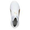 Weisse Damen-Sneakers mit goldenem Streifen puma, Weiss, 509-1200 - 15