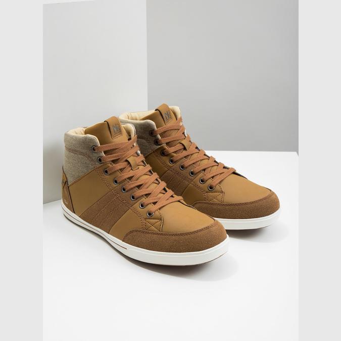Knöchelhohe Herren-Sneakers north-star, Braun, 841-3608 - 18
