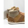 Knöchelhohe Herren-Sneakers north-star, Braun, 841-3608 - 14