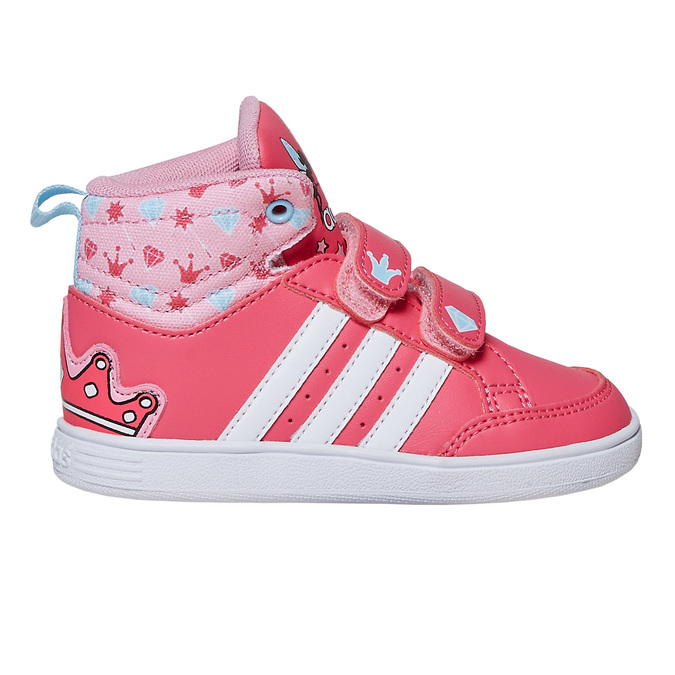 Knöchelhohe Mädchen-Sneakers adidas, Rosa, 101-5292 - 15
