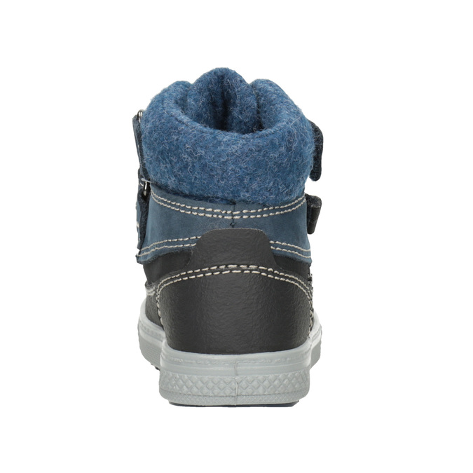 Kinder-Winterschuhe aus Leder primigi, Blau, 196-9006 - 16