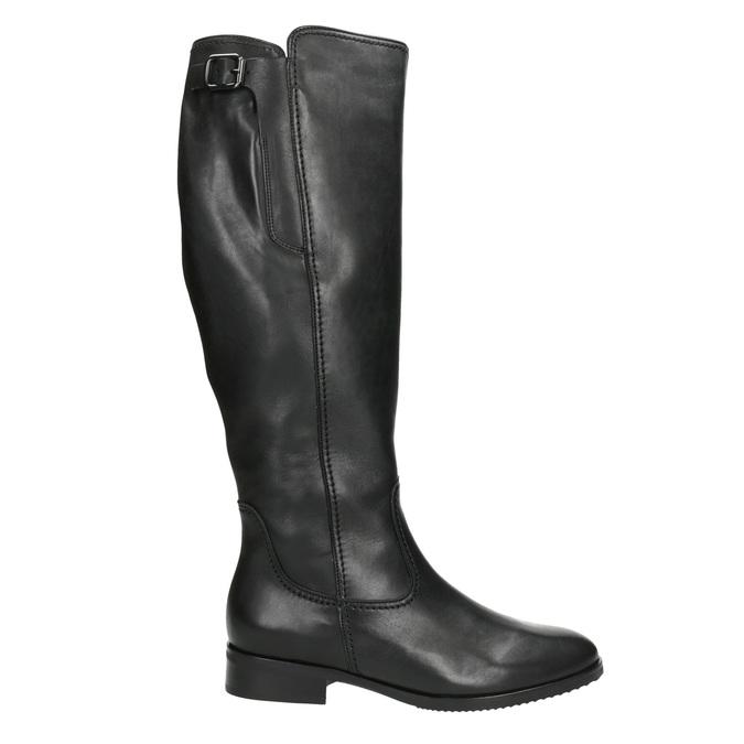 Schwarze Damenstiefel aus Leder gabor, Schwarz, 694-6164 - 26
