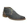 Herren-Knöchelschuhe aus Leder bata, Blau, 826-9920 - 13