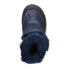 Mädchen-Winterschuhe mit Klettverschlüssen mini-b, Blau, 299-9613 - 26