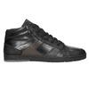 Knöchelhohe Herren-Sneakers aus Leder bata, Schwarz, 844-6644 - 26