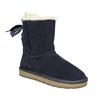 Velours-Stiefel für Damen bata, Blau, 593-9604 - 13