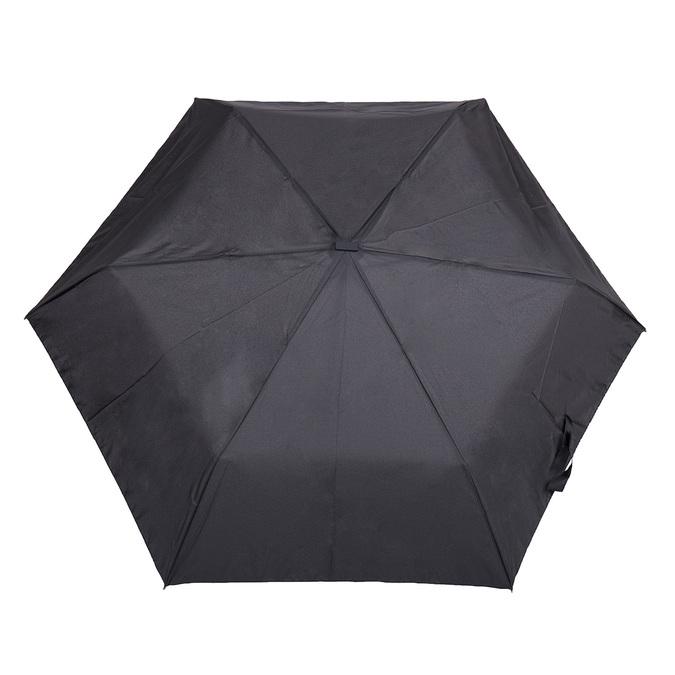 Schwarzer Taschen-Regenschirm, Schwarz, 909-6659 - 26