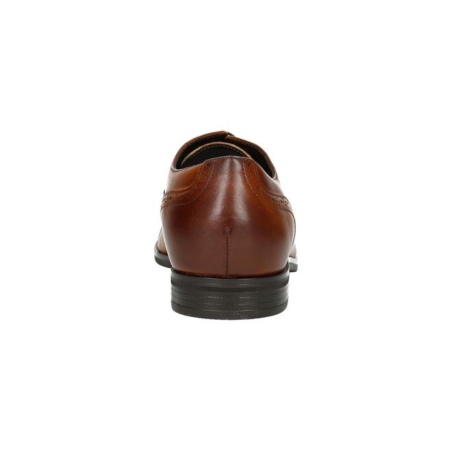 Braune Lederhalbschuhe im Ombré-Stil conhpol, Braun, 826-3923 - 16