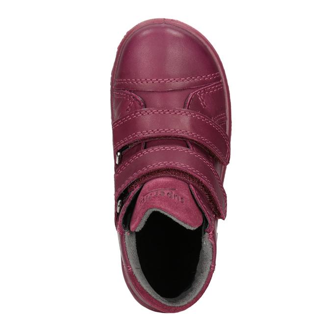 Kinder-Knöchelschuhe aus Leder, Rot, 124-5037 - 15