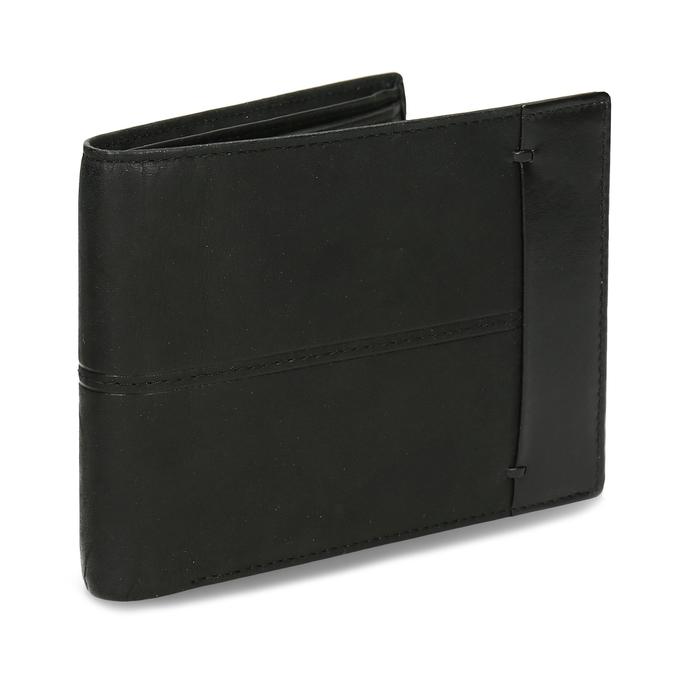 Herren-Geldbörse aus Leder bata, Schwarz, 944-6188 - 13