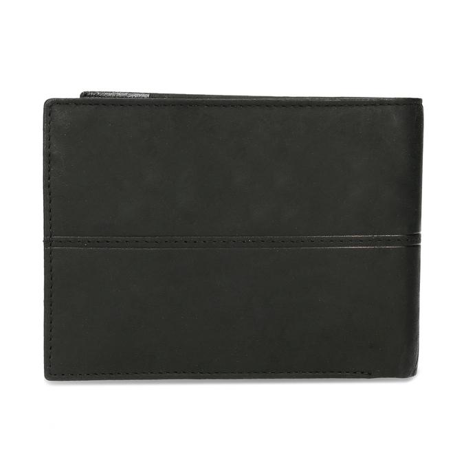 Herren-Geldbörse aus Leder bata, Schwarz, 944-6188 - 16