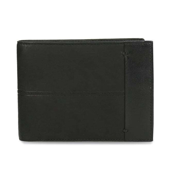Herren-Geldbörse aus Leder bata, Schwarz, 944-6188 - 26