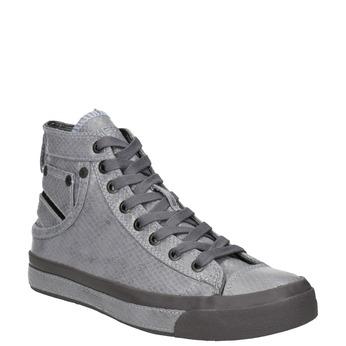 Knöchelhohe Damen-Sneakers diesel, Grau, 501-2743 - 13