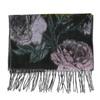 Damenschal mit Blumenmuster bata, Violett, 909-9643 - 26